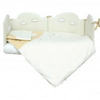 Комплект постільної білизни Верес Sleepyhead beige 6 елементів