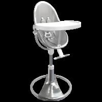 Стільчик для годування Bloom Fresco Silver вкладка lunar silver