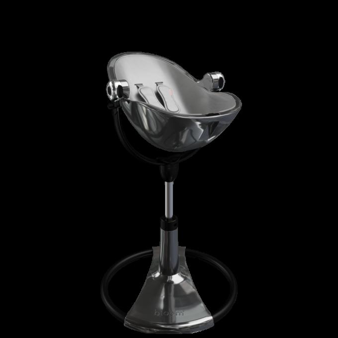 Стільчик для годування Bloom Fresco Titanium вкладка Snake Skin Grey