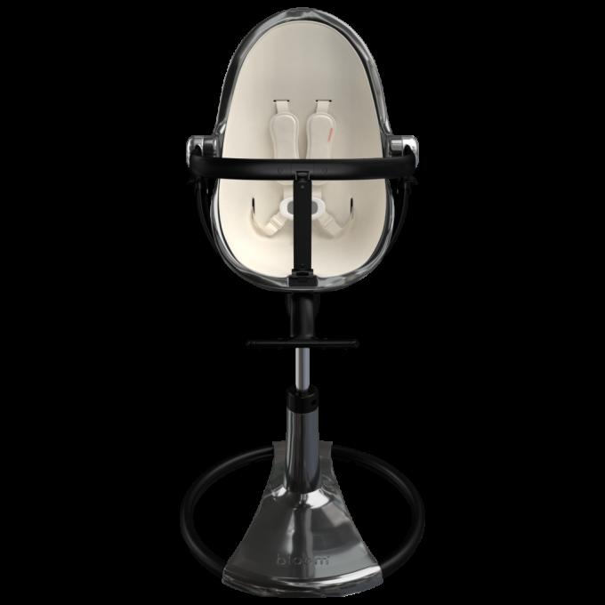 Стільчик для годування Bloom Fresco Titanium вкладка coconut white