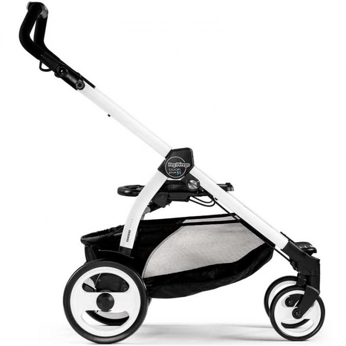 Peg-Perego Elite Luxe Mirage Book Plus 51 black/white коляска 3 в 1