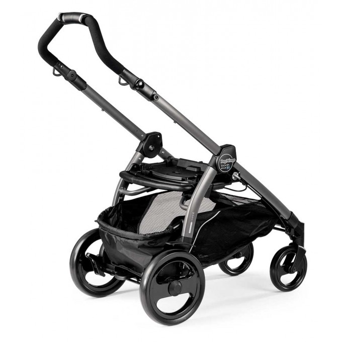 Peg-Perego Elite Luxe Mirage Book 51 grey коляска 3 в 1