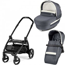 Peg-Perego Elite Luxe Mirage Book Plus matt black коляска 2 в 1