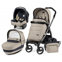 Peg-Perego Elite Luxe Beige Book Plus S коляска 3 в 1