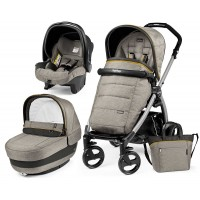 Peg-Perego Elite Luxe Grey Book Plus grey коляска 3 в 1