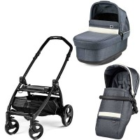 Peg-Perego Pop-Up Luxe Mirage Book Plus matt black коляска 2 в 1