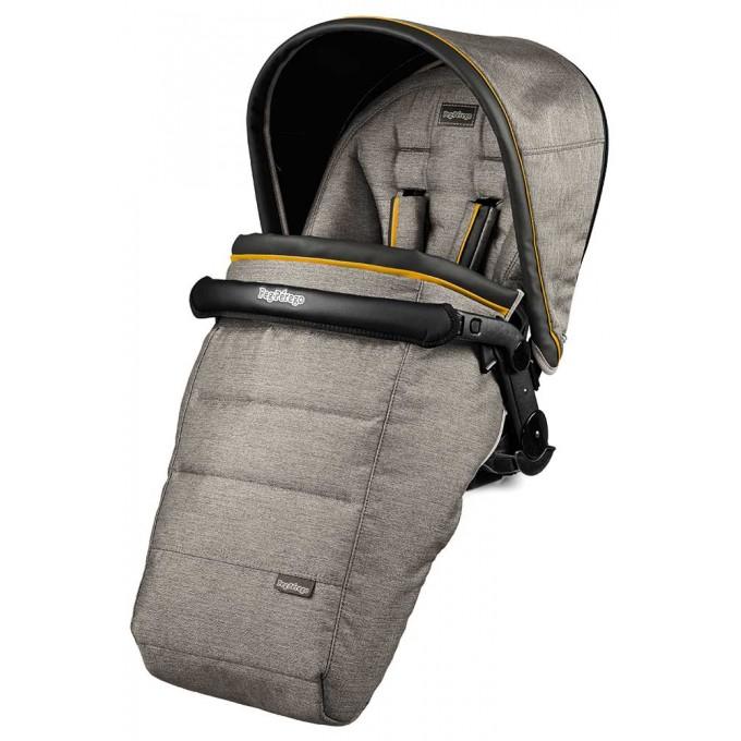 Peg-Perego Elite Luxe Grey Book Plus 51 black/white коляска 3 в 1