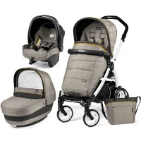 Peg-Perego Elite Luxe Grey Book Plus 51 black/white коляска 3 в 1