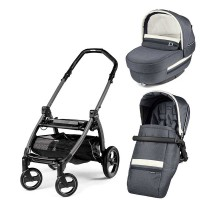 Peg-Perego Elite Luxe Mirage Book Plus grey коляска 2 в 1