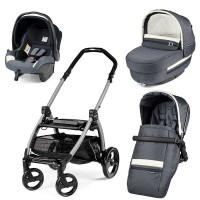 Peg-Perego Elite Luxe Mirage Book Plus grey коляска 3 в 1