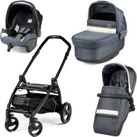 Peg-Perego Pop-Up Luxe Mirage Book Plus matt black коляска 3 в 1