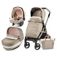 Peg-Perego Elite Mon Amour Book 51 rosegold коляска 3 в 1