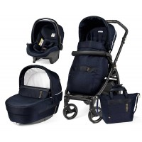 Peg-Perego Elite Rock Navy Book 51 black коляска 3 в 1