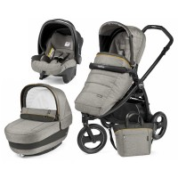 Peg-Perego Elite Luxe Grey Book Scout коляска 3 в 1