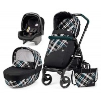 Peg-Perego Elite Tartan Book 51 black коляска 3 в 1