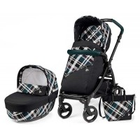 Peg-Perego Elite Tartan Book 51 black коляска 2 в 1