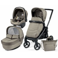 Peg-Perego Elite Cream Team коляска 3 в 1