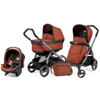 Peg-Perego Pop-Up Terracotta Book 51 grey коляска 3 в 1