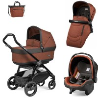 Peg-Perego Pop-Up Terracotta Book Plus matt black коляска 3 в 1