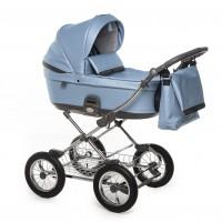 Roan Bloom Classic коляска 2 в 1 blue pear