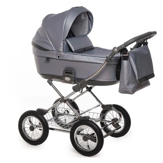 Roan Bloom Classic коляска 2 в 1 grey pear
