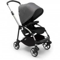 Bugaboo Bee 6 Alu Grey візок для прогулянок black grey melange