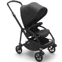 Bugaboo Bee 6 Black візок для прогулянок Minerals washed black