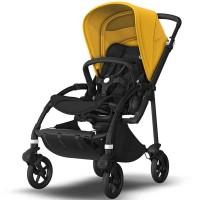 Bugaboo Bee 6 Black візок для прогулянок lemon yellow