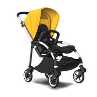 Bugaboo Bee 6 Alu Grey візок для прогулянок black lemon yellow