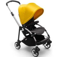 Bugaboo Bee 6 Alu Grey візок для прогулянок grey lemon yellow