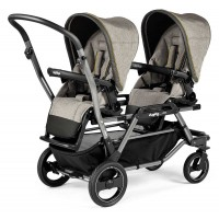 Peg-Perego Duette Piroet Pop-Up luxe grey коляска
