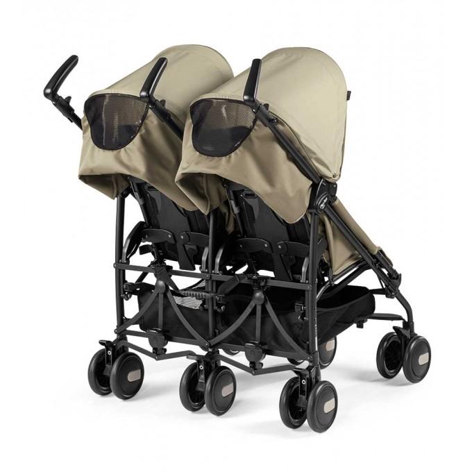 Peg-Perego Pliko Mini Twin class beige прогулянкова коляска