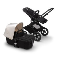 Bugaboo Fox 2 black/fresh white коляска 2 в 1 шасі black