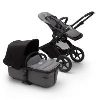 Bugaboo Fox 2 grey/black коляска 2 в 1 шасі black