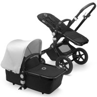 Bugaboo Cameleon 3 Plus fresh white коляска 2 в 1 шасі black