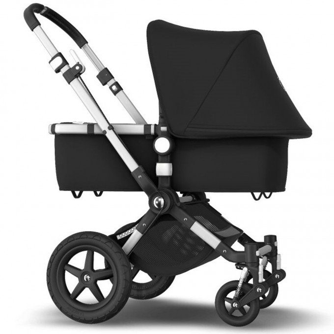 Bugaboo Cameleon 3 Plus black коляска 2 в 1 шасі Alu