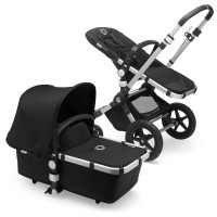 Bugaboo Cameleon 3 Plus black коляска 2 в 1 шасі Alu