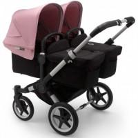 Bugaboo Donkey 3 Alu Twin коляска для двійні 2 в 1 soft pink