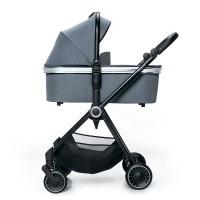 Espiro Galaxy коляска 2 в 1 graphite street