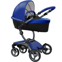 Mima Xari royal blue шасі graphite grey коляска 2 в 1
