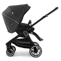Прогулянкова коляска Emmaljunga NXT60 Black FLAT Lounge Black Eco