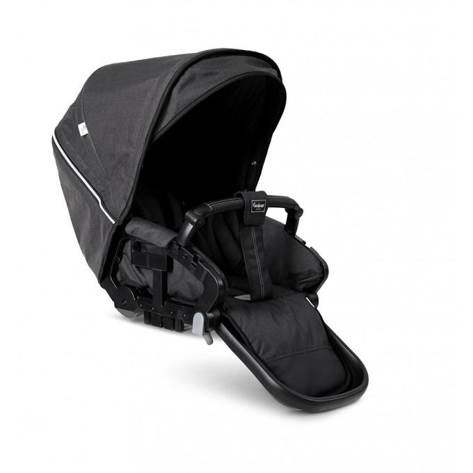 Прогулянкова коляска Emmaljunga NXT60 Outdoor Air FLAT Lounge Black Eco