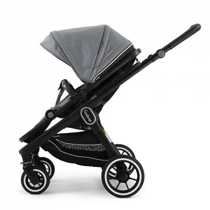 Emmaljunga NXT60 Black Lounge Grey Eco
