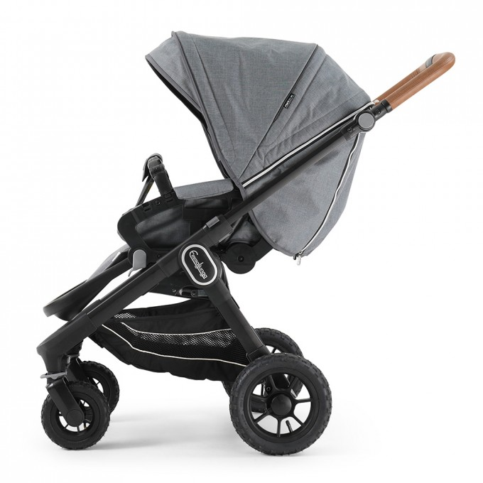 Прогулянкова коляска Emmaljunga NXT60 Outdoor Air FLAT Lounge Grey Eco