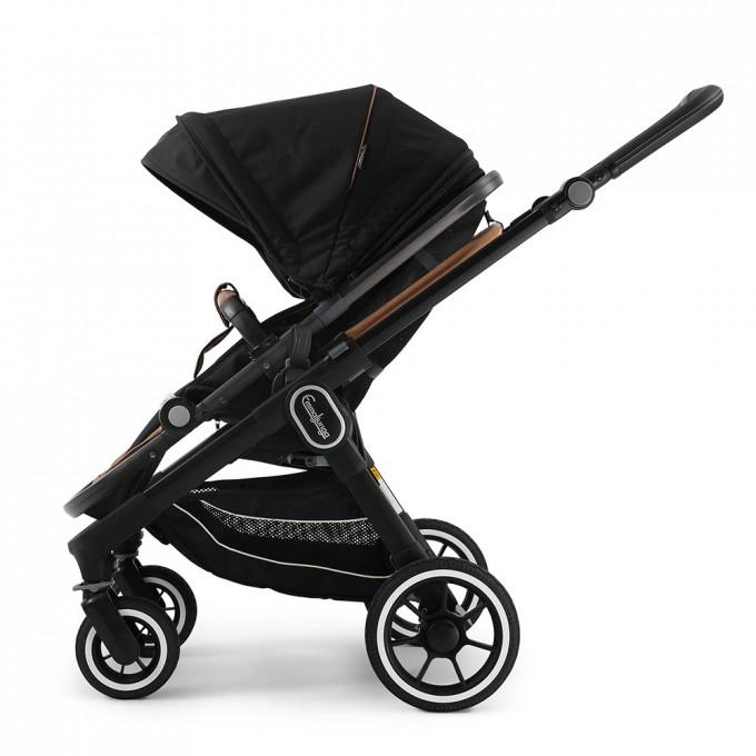 Прогулянкова коляска Emmaljunga NXT60 Black Outdoor Black Eco