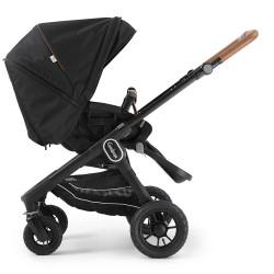 Прогулянкова коляска Emmaljunga NXT60 Outdoor Air FLAT Outdoor Black Eco