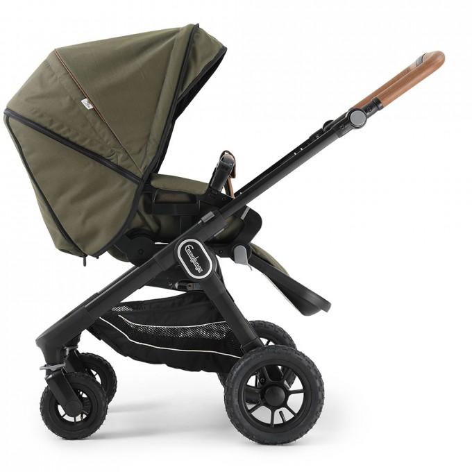 Emmaljunga NXT60 Outdoor Air FLAT Outdoor Olive Eco