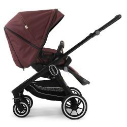Прогулянкова коляска Emmaljunga NXT60 Black FLAT Savannah Eco