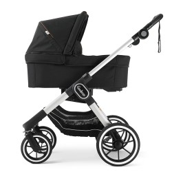 Emmaljunga NXT90 Silver Outdoor Black
