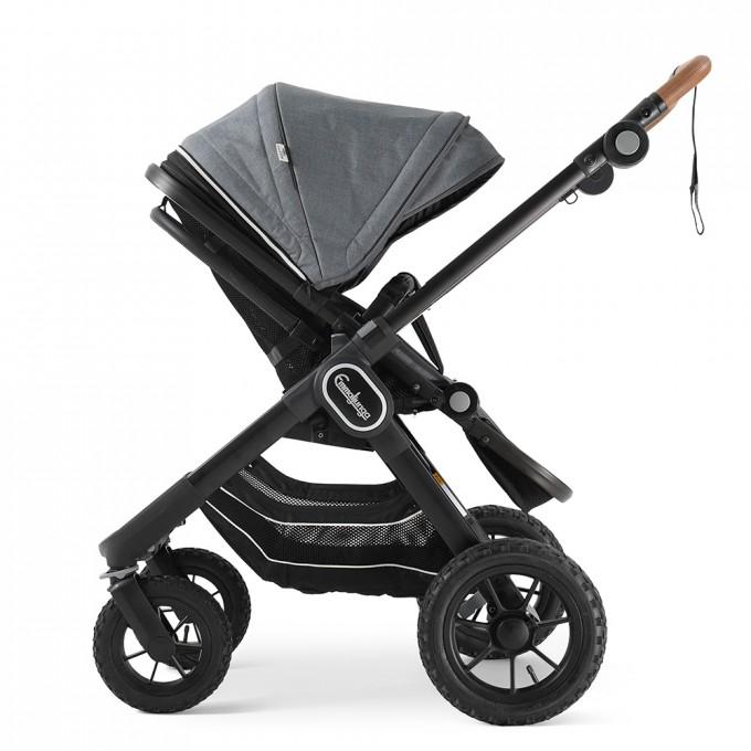 Прогулянкова коляска Emmaljunga NXT90 Black Outdoor Air Lounge Grey